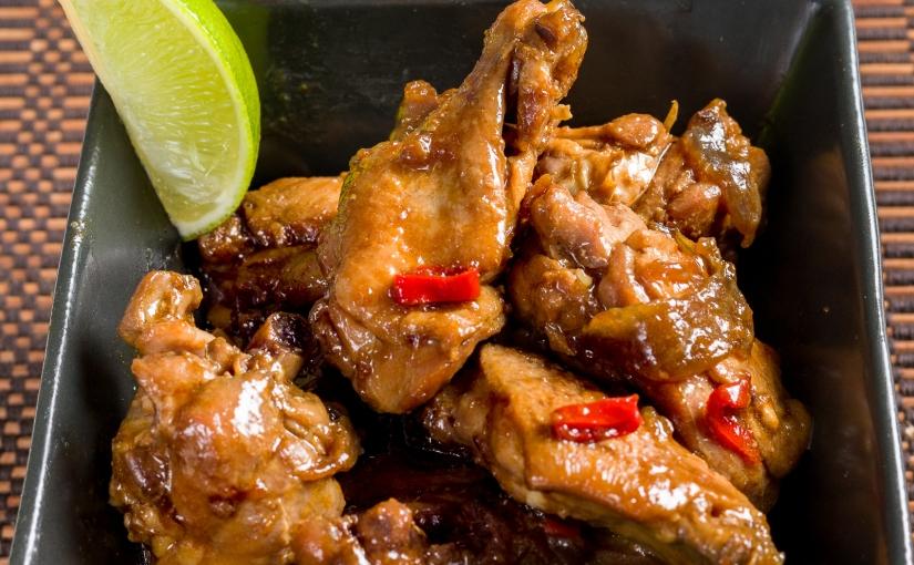 Ayam Temprah/Sambal Belacan